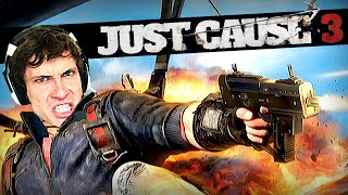 DOWN IN FLAMES - Just Cause 3 Gameplay Highlight