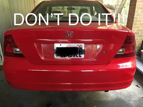 Why You SHOULDN'T Debadge Your 15 Year Old Car!!!