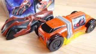 食玩SGシフトカー3 シフトカラフルコマーシャル & スパイダーバイラルコア レビュー!全6種 DXドライブドライバー & DXブレイクガンナーで音声確認 仮面ライダードライブ thumbnail