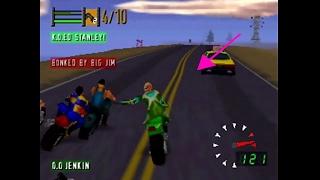 Road Rash 64: BIG GAME LEVEL 1