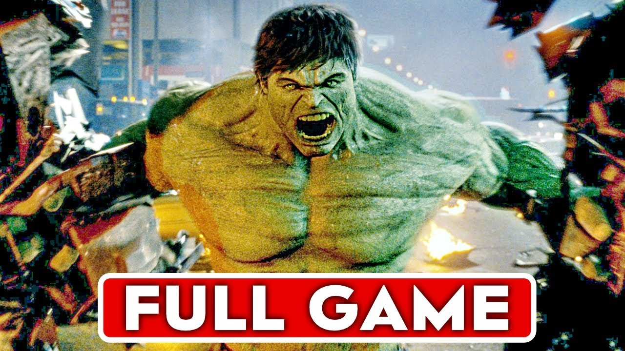 THE INCREDIBLE HULK Gameplay Walkthrough Part 1 FULL GAME [1080p HD] - No  Commentary - YouTube
