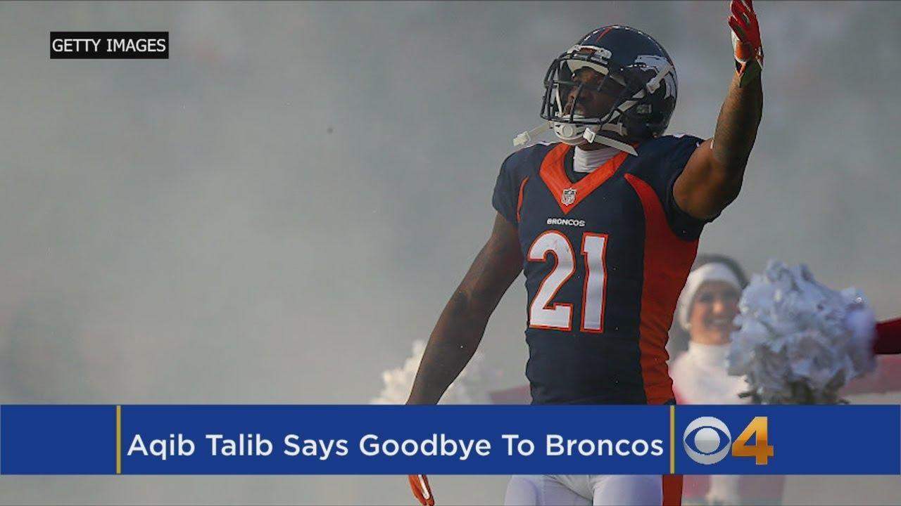 Talib Thanks Broncos Country: 'I've Enjoyed Every Minute'