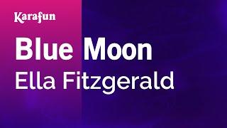 Karaoke Blue Moon - Ella Fitzgerald *