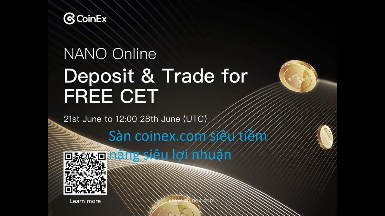 Download Sàn coinex.com siêu tiềm năng siêu lợi nhuận