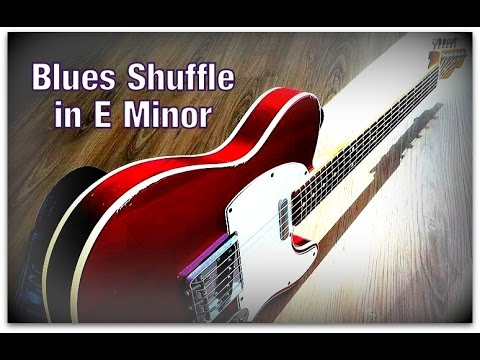 Uplifting Swing Guitar Backing Track E Minor Youtube