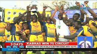 Kabras Sugar are the 2017 national sevens circuit champions after t...