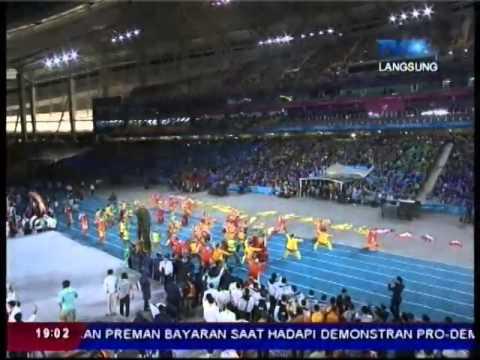 Indonesia Perform Closing Ceremony Asian Games 2014 LIVE TVRI