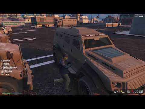 Успешное нападение на военку (Redage RP)