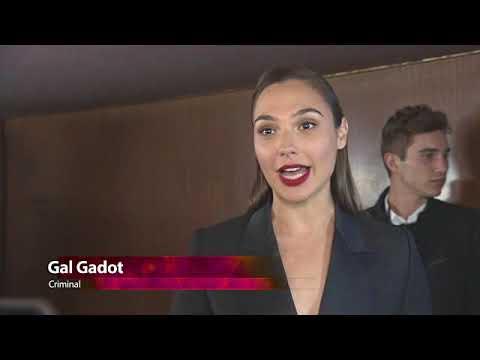EVENT CAPSULE CHYRON - at 'Criminal' UK Premiere