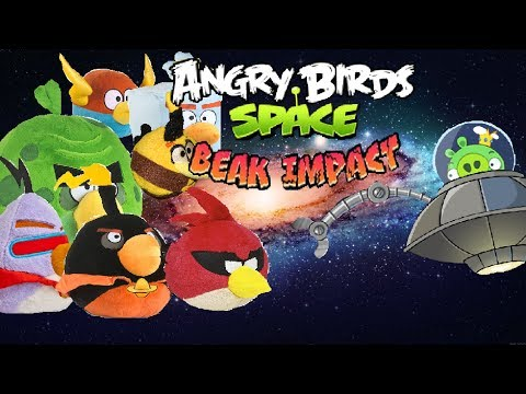 Angry Birds Space Plush Adventures: Beak Impact