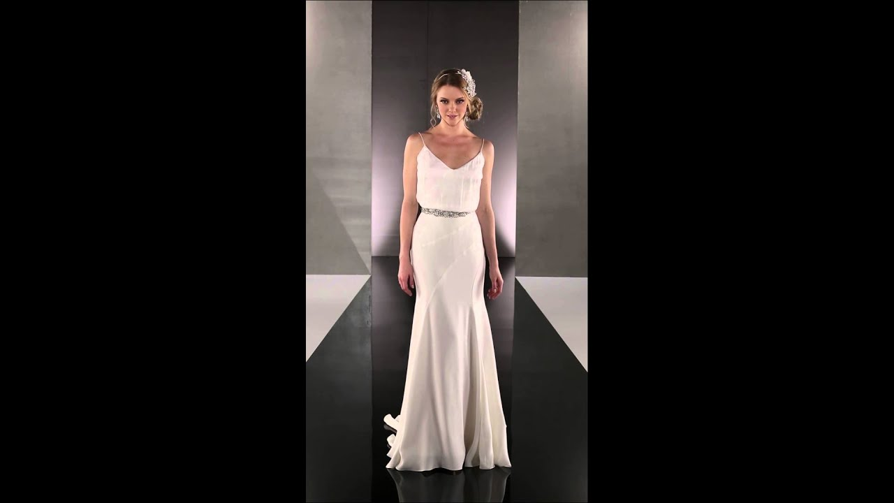 1920\'s Wedding Dresses - Martina Liana 714 - YouTube