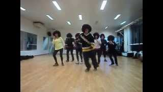 FUNK -DANCE ACROSS THE FLOOR - COREOGRAFIA