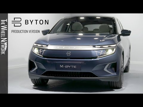 Byton M-Byte | Exterior, Interior (IAA 2019 Production Version)