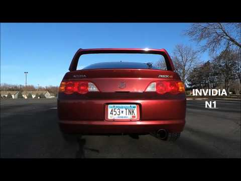 Repeat Acura RSX Type-S Invidia N1 Catback Exhaust