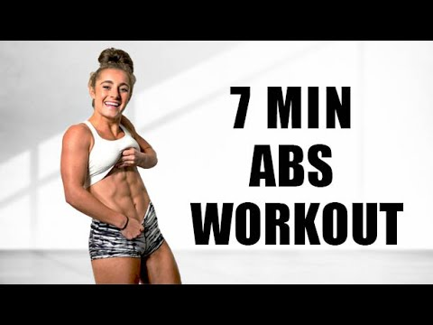 7 MINUTE AB WORKOUT! // No Equipment | Demi Bagby