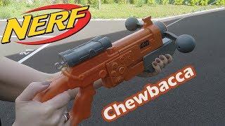 Nerf Super Soaker Star Wars Chewbacca - Démo du pistolet à eau en français HD FR