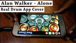 Video Alan Walker - Alone (Real Drum App Cover) - By Vijay Yadavar download MP3, 3GP, MP4, WEBM, AVI, FLV Januari 2018