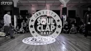Greentek vs C Row Pop ►  Popping Semi Finals - Soul Clap 2017