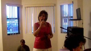 Jeanette Higuera Hritz sings hojo seca.MOV