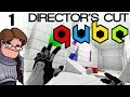 Let's Play Q.U.B.E: Director's Cut Part 1 - Now With Story