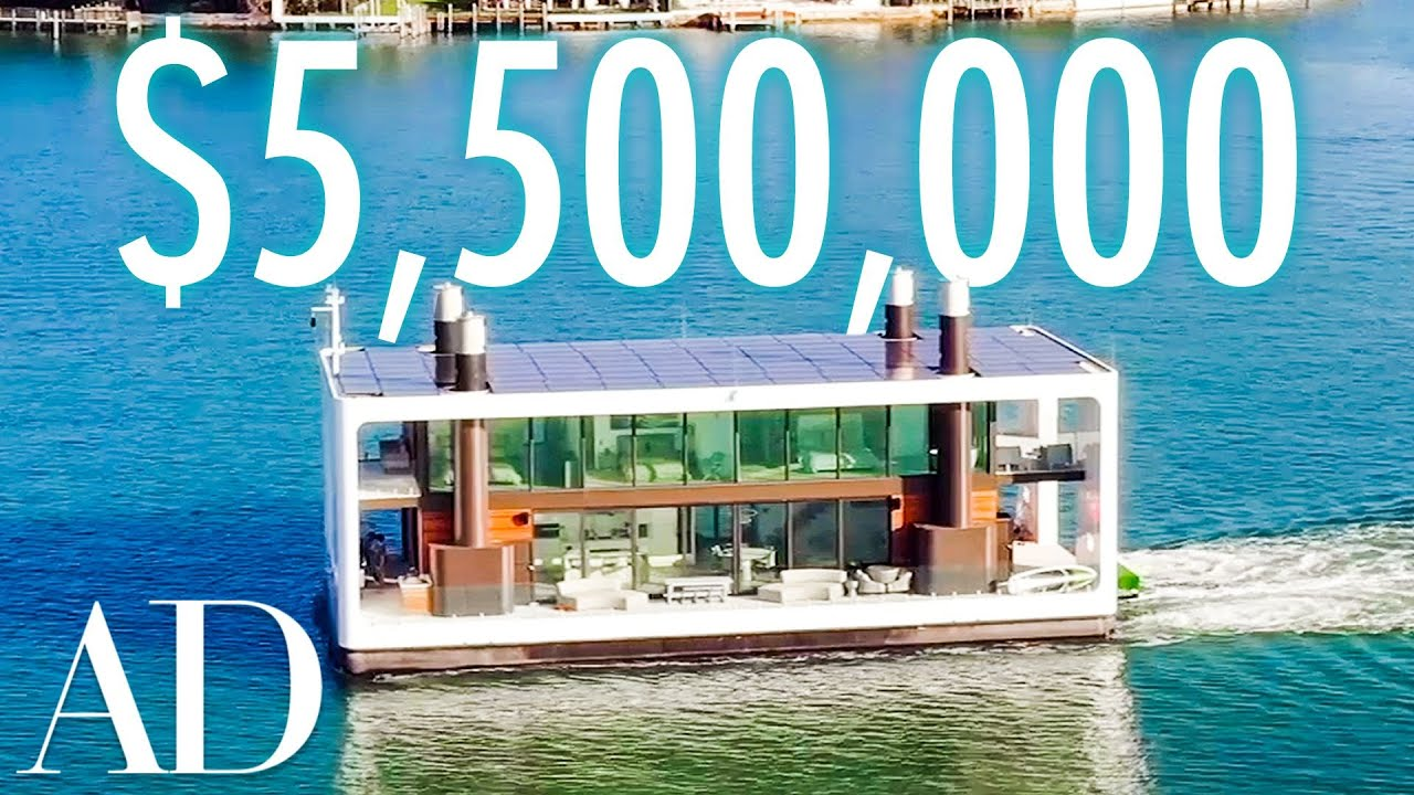 5 5m Floating Mansion In Miami