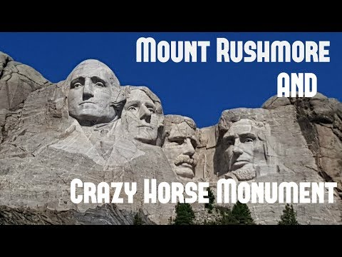 We went to Mount Rushmore and Crazy Horse Monument