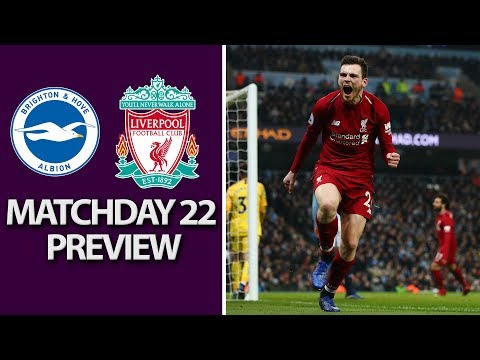 Brighton v. Liverpool | PREMIER LEAGUE MATCH PREVIEW | 1/12/19 | NBC Sports