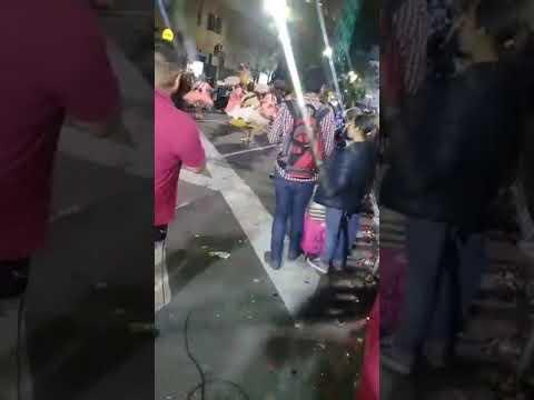 La entrada folklóricas en plaza de mayo 2017 tinkus san simon argentina