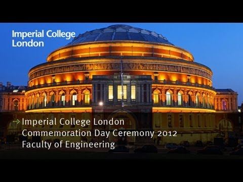 Imperial College London Commemoration Day Ceremonies - Faculty of Engineering