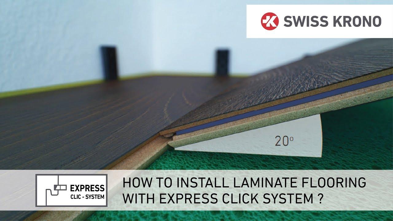 Download Układanie paneli podłogowych z zamkiem Express Click / Express Click flooring installation