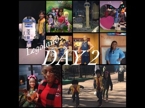 2018 SPRING BREAK VLOG | DALLAS DAY 2, HELLO LEGOLAND!