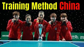 Table Tennis Training Methods in China