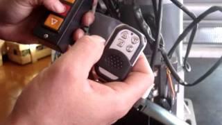 Codificação de controle remoto modelo 206 - versão 2 - Blue Way Autom. e Equip. Ltda