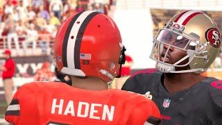 Madden 16 (Xbox One) 49ers vs Browns Gameplay