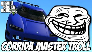 GTA V - Corrida ULTRA MASTER TROLL, RAGE BRABA