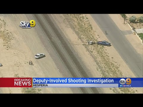 Man Escapes After Trying To Run Down Deputy In Hesperia
