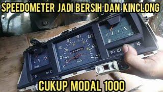 Cara membersihkan mika speedometer mobil