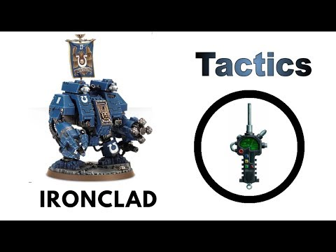 Ironclad Dreadnought: Rules, Review + Tactics - New Space Marine Codex Strategy Guide
