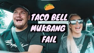 TACO BELL MUKBANG FAIL WITH MICHAEL   Amy-Jane Brand