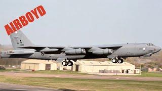 B-52 Departures • RAF Fairford