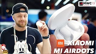 🎧 Bezdrátová sluchátka Xiaomi Mi AirDots: první dojmy z MWC 2019 | WRTECH [4K]