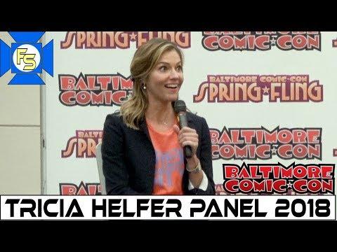 Tricia Helfer Lucifer, Battlestar Galactica Panel  Baltimore Comic Con 2018