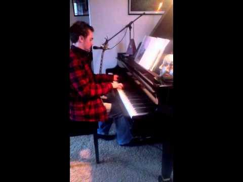 Community TV show music mix on piano