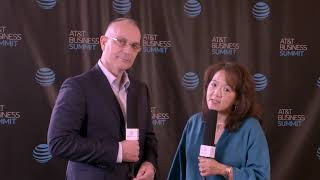 #ATTBizSummit - Day 1 - Talking with Anne Chow, President National Business - AT&T Business