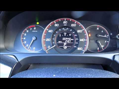 2013 2014 2015 Accord   How To Adjust The Green Econ Bar Meter