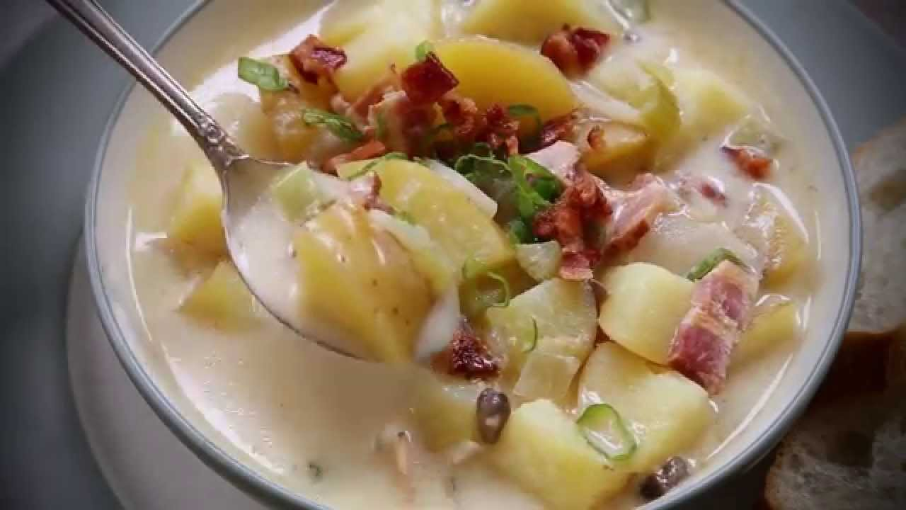 How to Make The World's Best Potato Soup | Soup Recipes ...