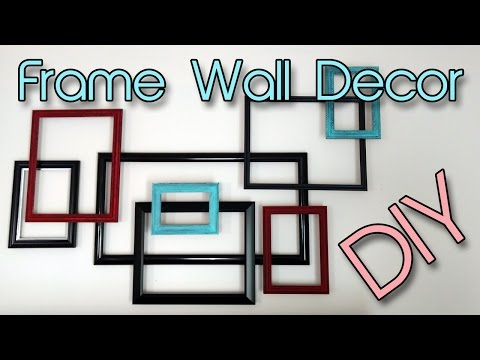 Frame Wall Decor | DIY | Easy & Creative! | Creation in Between