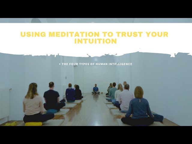 Using Meditation to Trust Your Intuition: The Four Types of Human Intelligence