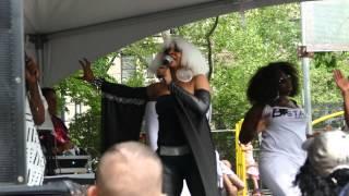 Barbara Tucker, NYC Dance Parade performance @Tompkins Park