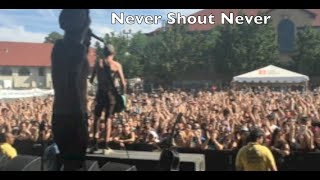 Vans Warped Tour Vlog ft. Say We Can Fly, Never Shout Never , August Burns Red + Kosha DIllz!!!!!